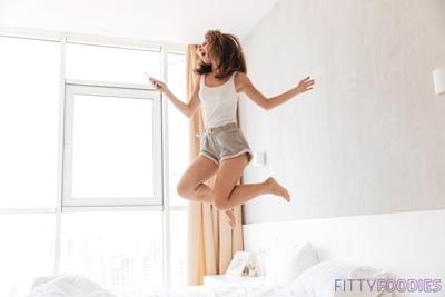 [image of energetic woman]