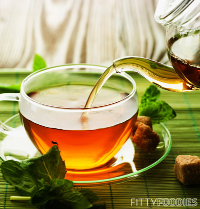 [picture of green tea]