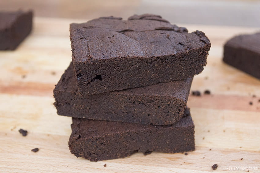 [picture of Fudgy Coconut Flour Brownies]