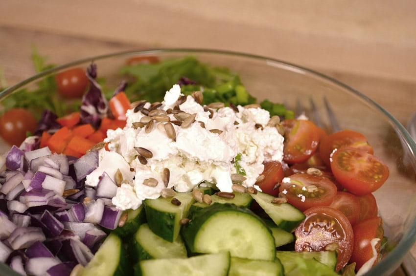 [picture of The Ultimate Greek Salad + Dressing]