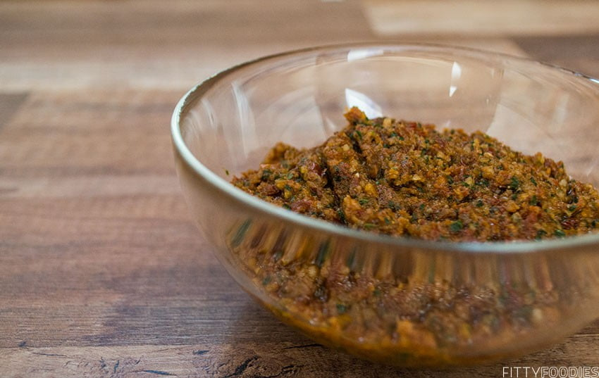 [Picture of Sun-Dried Tomato Pesto]