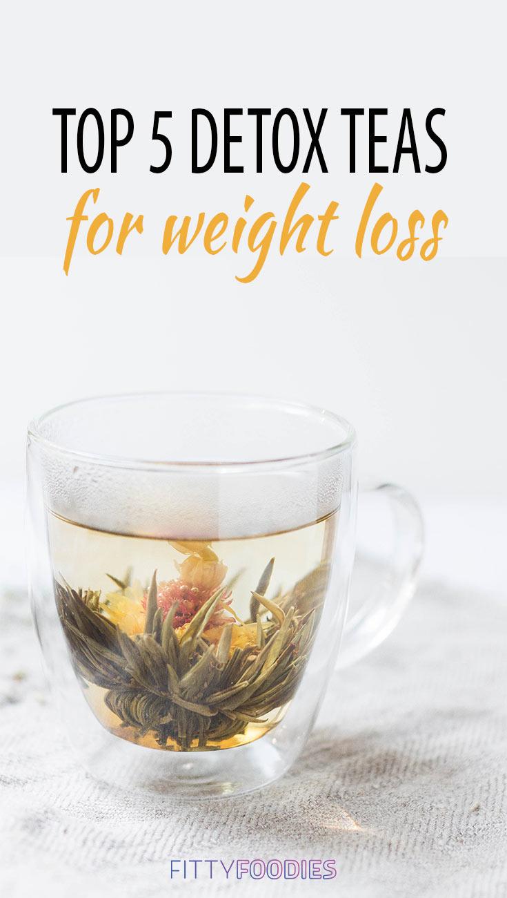 5 Best Detox Teas For Weight Loss