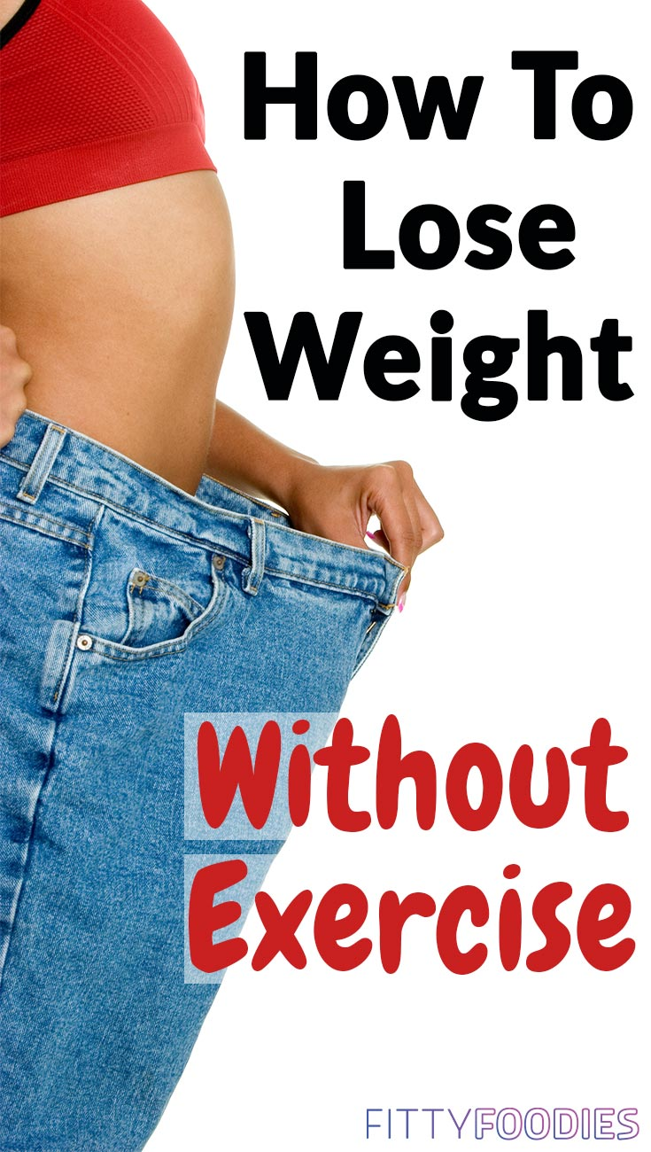 How To Lose Weight Without Exercise | Lose Weight Without Working Out | Weight Loss Without Exercise For Women