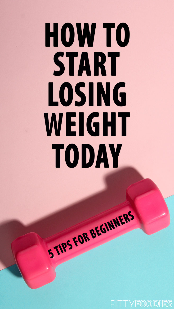 How To Start Losing Weight Today: 5 Tips For Beginners | How To Lose Weight For Beginners | Weight Loss For Women