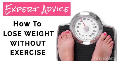 The image of how to lose weight without exercise