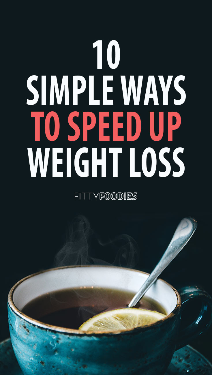 Simple Ways To Lose Weight - Image For Pinterest