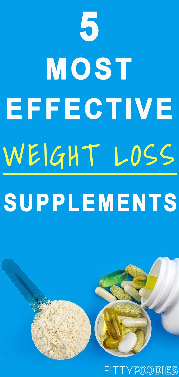 5 Most Effective Weight Loss Supplements | Supplements For Weight Loss | Supplements For Women Weightloss