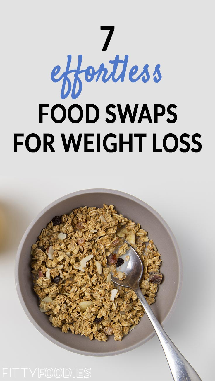 7 Effortless Food Swaps For Weight Loss | Healthy Food Swaps For Clean Eating | Healthy Food To Lose Weight