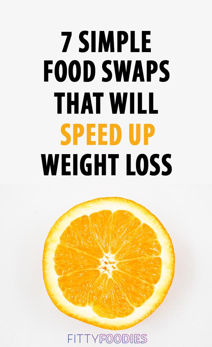 Food swaps pin