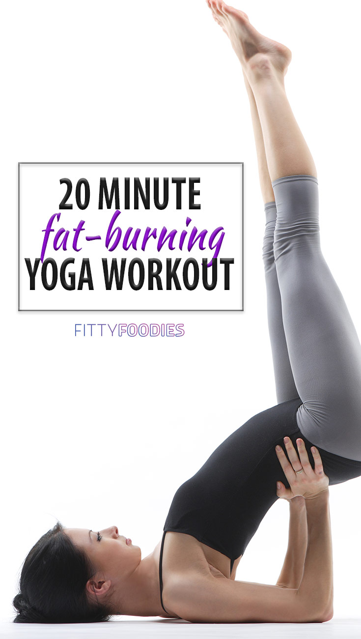 20 Minute Yoga Workout For Weight Loss - Image For Pinterest