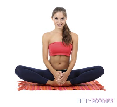 7 simple yoga asanas for beginners  fittyfoodies