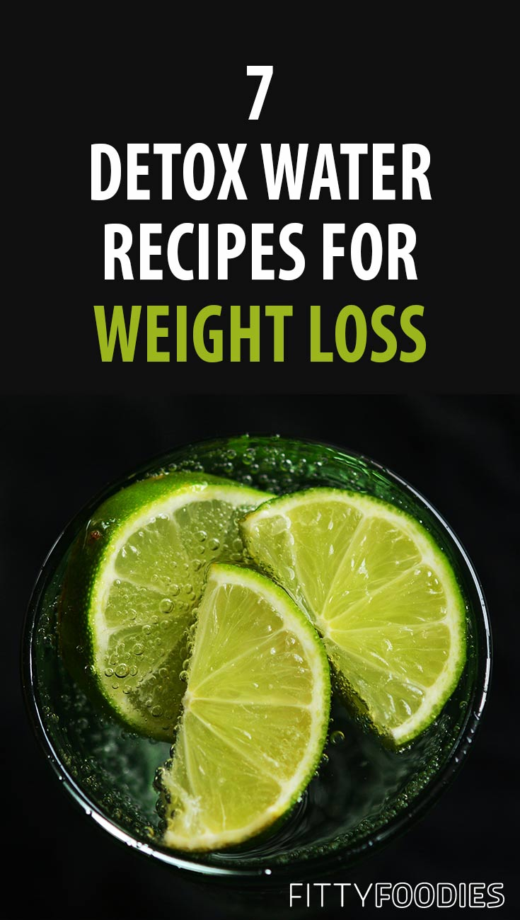 7 Detox Water Recipes For Weight Loss | Fat Burning Detox Water | Detox Water To Lose Weight | Weight Loss Tips