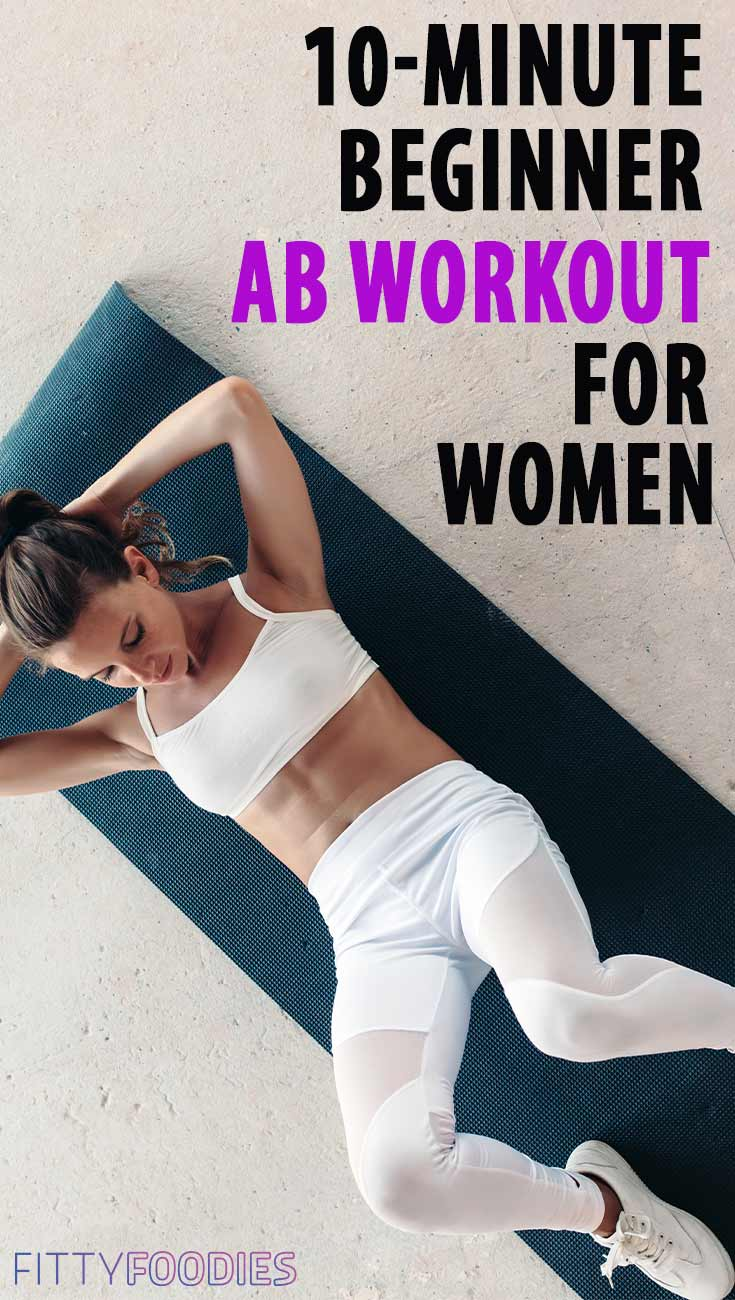Photo of woman doing crunches for abs