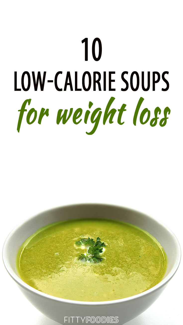 Low-calorie soups for weight loss