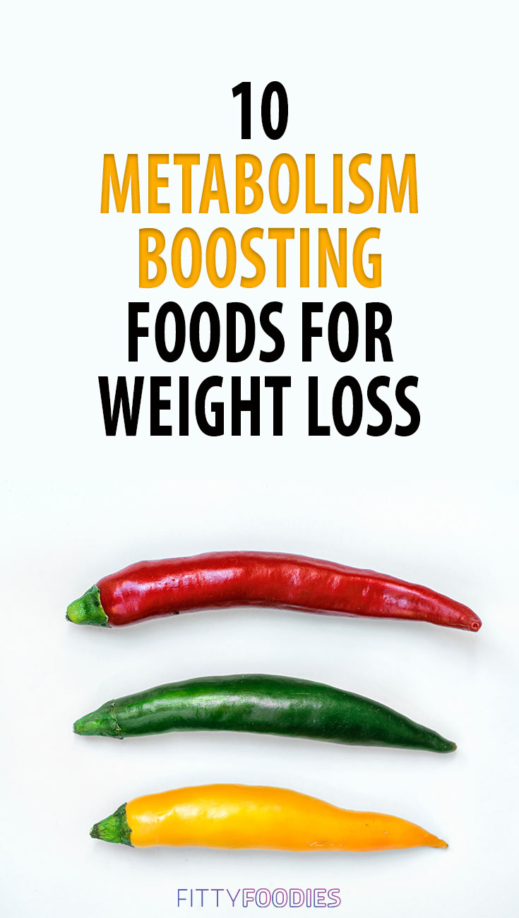 Metabolism Boosting Foods For Weight Loss