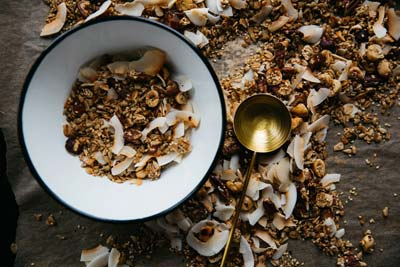 granola packed with sugar and oil - making it a food to avoid for weight loss